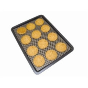 Cookamesh Reusable non-stick PTFE mesh sheet for baking, grilling and cooking. 330 x 400mm.