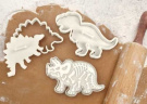"""Dig-Ins"""" Dinosaur Fossil Novelty Cookie Cutters/Stampers-Set of 3"""