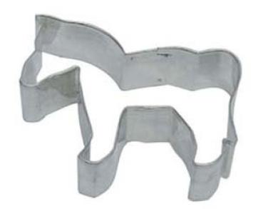 Horse Metal Cookie Cutter