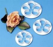 PME Sugarcraft Flower Cutter Set - 5-Petal - Large