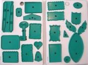 JEM Cutters Gum Paste Cutter Set - Novelty Assortment 5