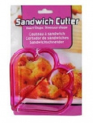 Sandwich Cutter- Heart Shapes (Pink) Crust Cutter