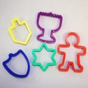 Rite Lite KWC-14165 Chanukah Cookie Cutters - Set of 5
