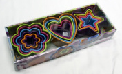 Brandani Assorted Rainbow Cookie Cutters