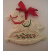 Holiday Rocking Horse Cookie Press By Lenox