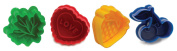 Norpro 3257 Pie Topper Cutters Cookie Stamp, Set of 4
