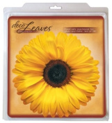 EuroQuest Imports Deco Sunflower Parchment Leaves, Package of 20