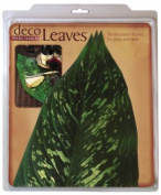 EuroQuest Imports Large Tropical Deco Parchment Leaves, Package of 10
