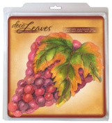 EuroQuest Imports Deco Grape Cluster Parchment Leaves, Package of 20