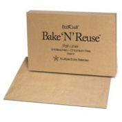 Bagcraft Papercon 030010 EcoCraft Bake 'N' Reuse Pan Liner with Chromium-Free Release, 24-1cm Length x 16-1cm Width