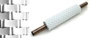 PME Sugarcraft Rolling Pin - Basketweave - Deep