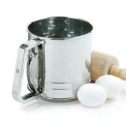 Norpro 3-Cup Stainless Steel Spring-Action Sifter