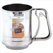 Baker's Secret Signature 3-Cup Stainless Steel Sifter