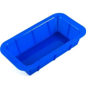 Blue Silicone Bread Loaf Pan