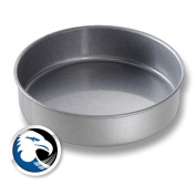 Chicago Metallic Bakeware Glazed Aluminized Steel 20.3cm . Round Cake Pan