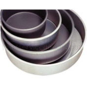 Allied Metal CPH12X3 Heavy Weight Aluminium Straight Sided Pizza/Cake Pan, 30.5cm by 7.6cm
