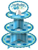 Amscan International Birthday Boy Cupcake Stand