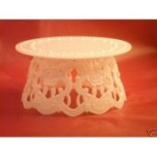 Plastic Cake Top Base Stand 11.4cm X 6.4cm Tall Accessory