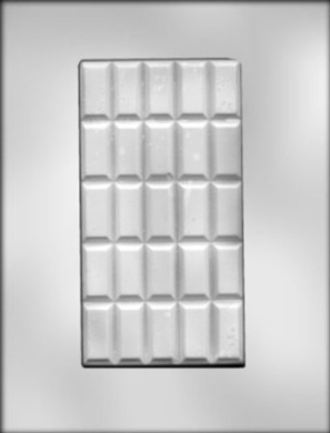 CK Products 8.9cm by 16.8cm Break-Apart Bar Chocolate Mould