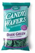 Make 'N Mould Dark Green Vanilla Flavoured Melting Wafers