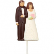 Make N' Mould 0274 Dress My Cupcake Bride and Groom Pop Candy Mould