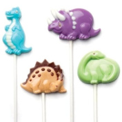 Make N' Mould 0243 Dress My Cupcake Dinosaur Pops Candy Mould