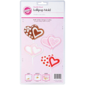 Wilton Double Heart Lollipop Mould