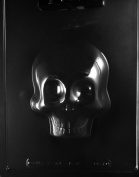 LARGE 3-D SKULL FRONT 0.5kg 1.9 CHOCOLATE CANDY mould