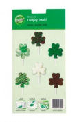 Cookie & Candy Mould-6 Cavity Shamrock Lollipop