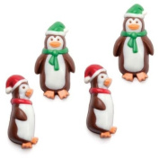 Make N' Mould 2158 Dress My Cupcake Holiday Penguin Minis Candy Mould