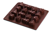 Dr. Oetker 2474 Silicone Chocolate Mould, Wintertime
