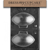 Dress My Cupcake DMCS041 Chocolate Candy Mould, 3D Footballs