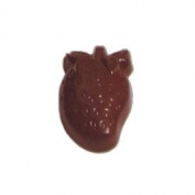 Polycarbonate Chocolate Mould Strawberry 49x30 mm x 14mm High, 21 Cavities