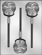 CK Products 5.7cm Pansy Sucker Chocolate Mould