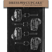 Dress My Cupcake DMCB050 Chocolate Candy Mould, Baptism Bassinet, Baby Shower