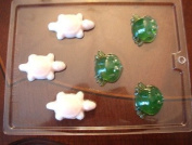 Frogs and Turtles soap making mould