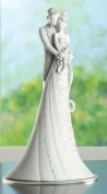 Roman Wedding Cake Topper Figurine 22.9cm Embrace
