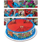 Spiderman Designer Prints Cake Edible Image