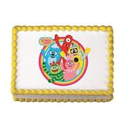 Yo Gabba Gabba Edible Cake Topper
