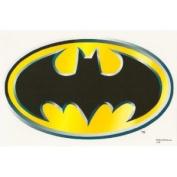 Batman Logo Edible Image Cake Topper
