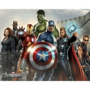 The Avengers Group ~ Edible Image Cake / Cupcake Topper