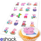 20 x Peppa Pig Edible Birthday Cupcake Cake Toppers Decorations