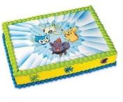 Pokemon Edible Image Cake Topper