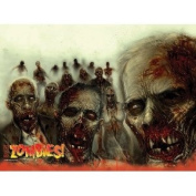 Zombies! ~ Edible Image Cake / Cupcake Topper!