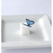 Edible Butterflies © - Mini Assorted Blue Set of 48 - Cake and Cupcake Toppers, Decoration