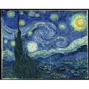 Van Gogh Starry Night Painting ~ Edible Image Cake Topper!!!