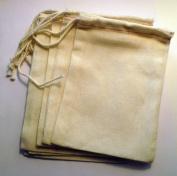 Cotton Drawstring Muslin Bags, 7.6cm X 12.7cm - Pack of 25