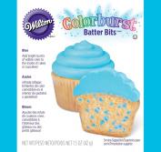 Wilton 710-1145 Colorburst Batter Bits, Blue