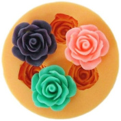 1.8cm flower Earring F0110 Silicone Fondant mini mould Craft Moulds DIY Cake Decorating