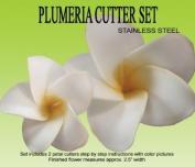 Plumeria Gumpaste Cutter Set